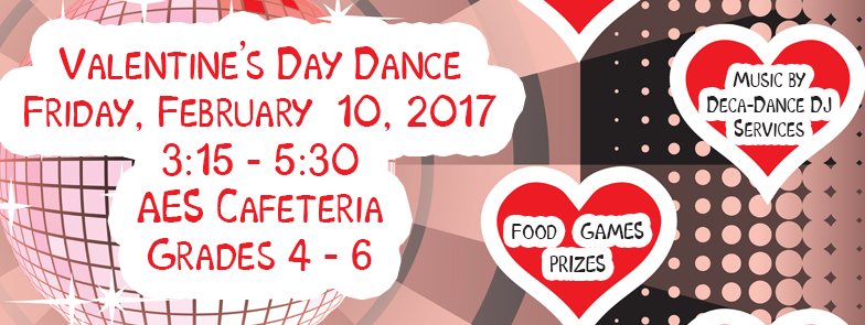It's Time For The Annual Valentine's Day Dance!