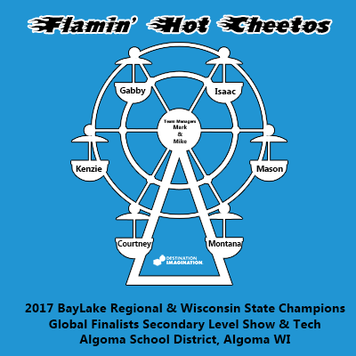 2017 Flamin' Hot Cheetos Shirt